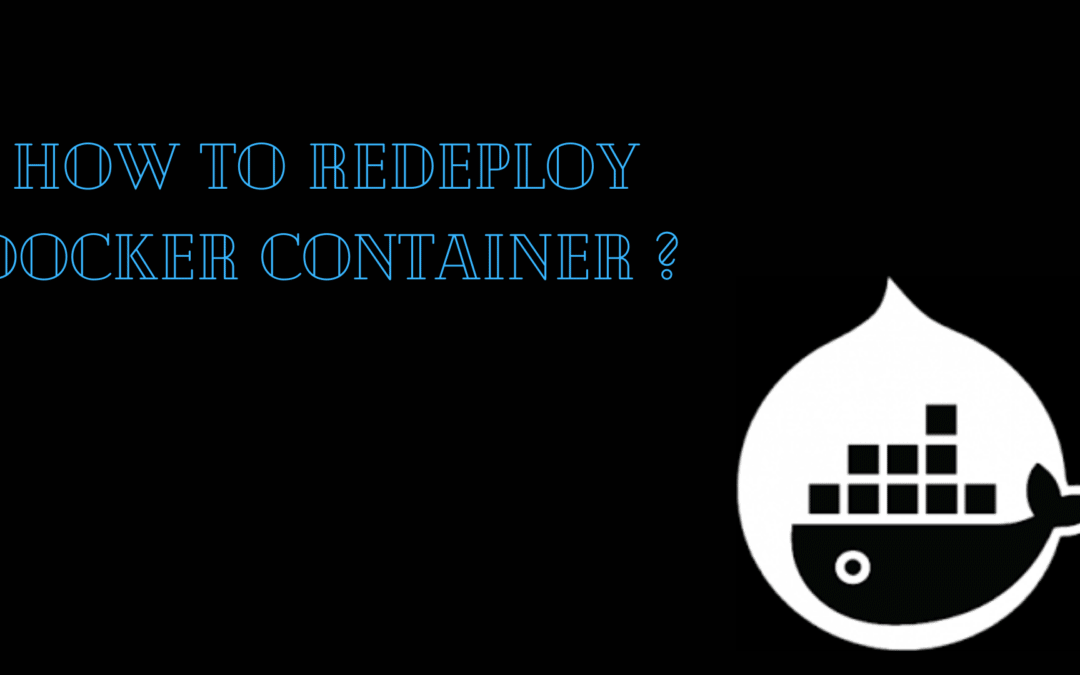 How to Redeploy Docker Container ?